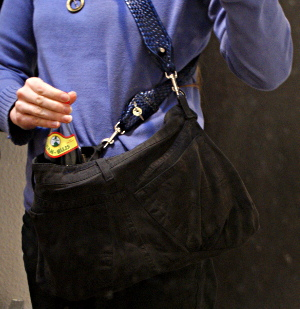 Tasche in Aktion 2